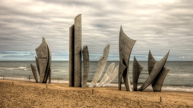 Monument des braves Omaha Beach