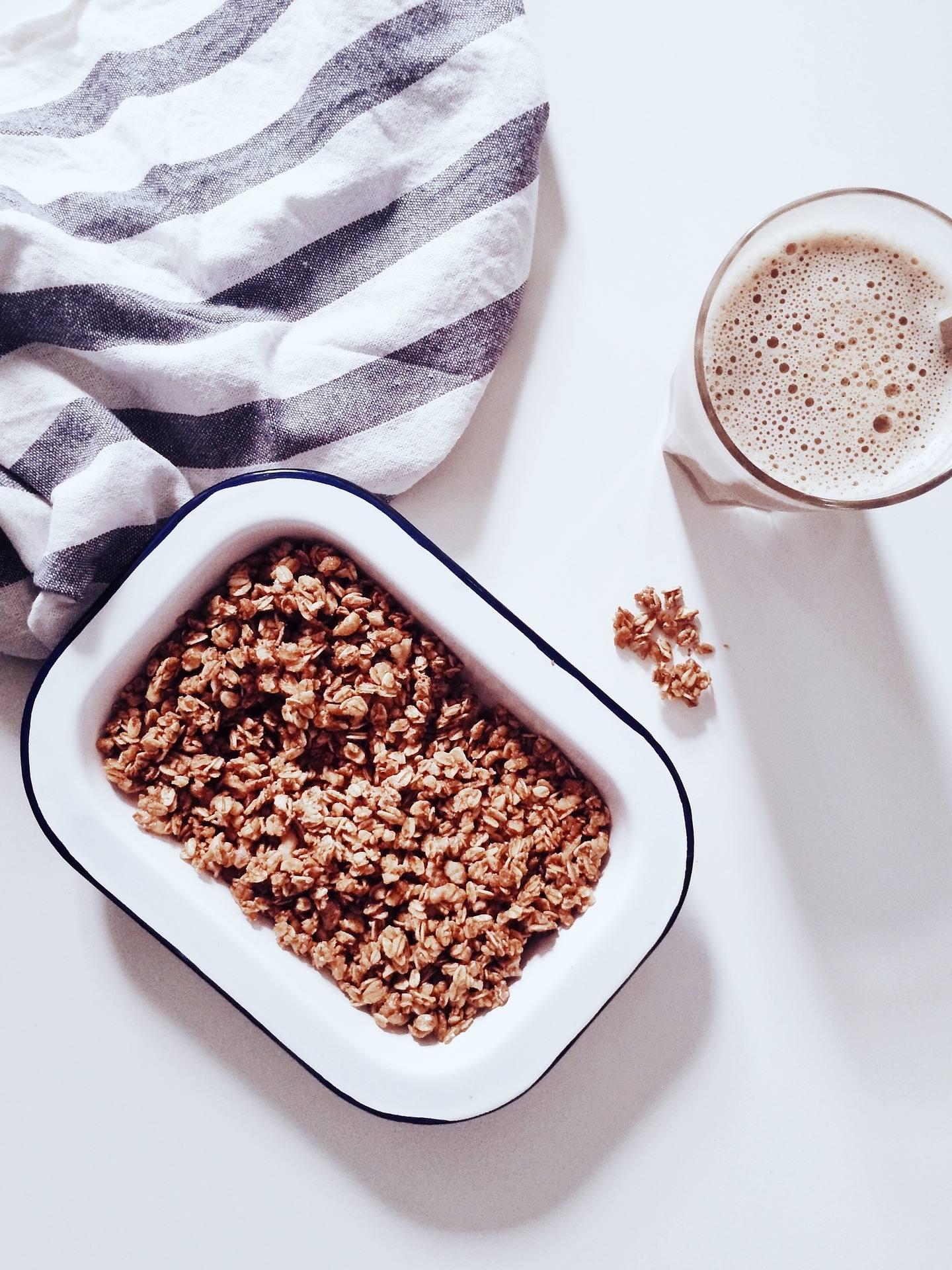 Petit dej protéiné : idées recettes aux Granolas et caramel